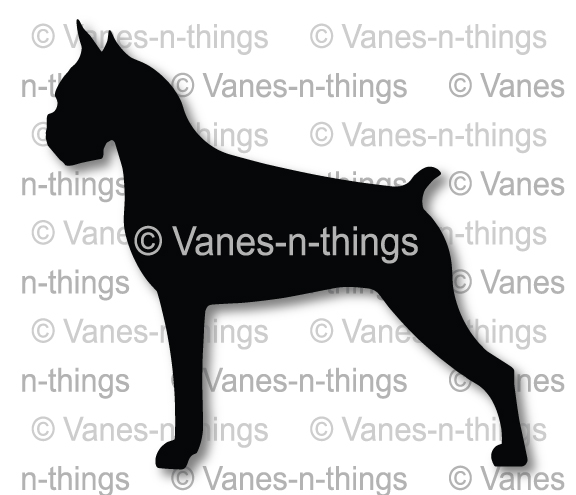 Breed Silhouette Vinal Decals | Stickers