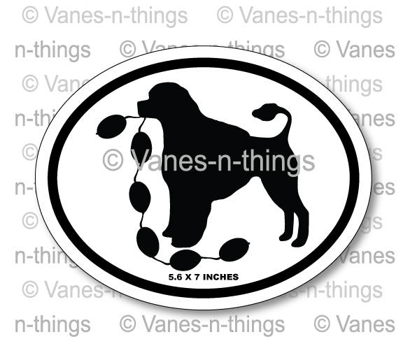 All Breed Oval Decals | Stickers