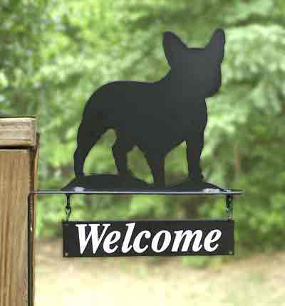 Welcome Bracket or Kennel Sign