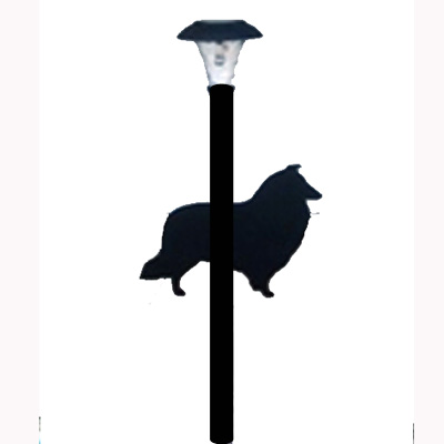 Breed Silhouette Solar Light
