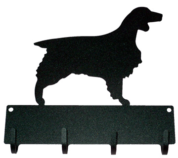 4 Hook 9 Inch Breed Leash Holder